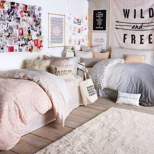 Picture Of chic and inviting shared teen girl rooms ideas  1
