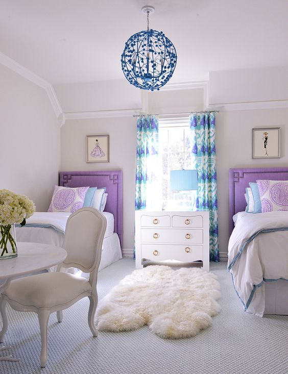 22 Chic And Inviting Shared Teen Girl Rooms Ideas - DigsDigs on Teenager Room Girl  id=89450
