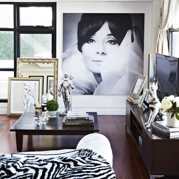 Chic And Stylish Melbourne House Of A Famous Illustrator | DigsDigs