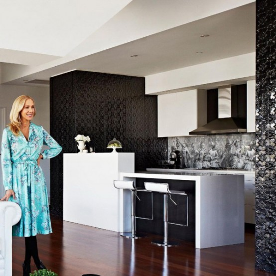 Chic And Stylish Melbourne House Of A Famous Illustrator