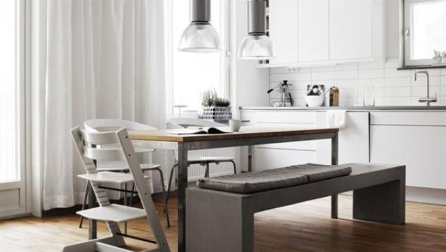 Chic And Timeless Nordic Apartment Design