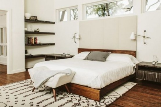 30 chic and trendy mid century modern bedroom designs - Midcentury modern bedroom furniture ...