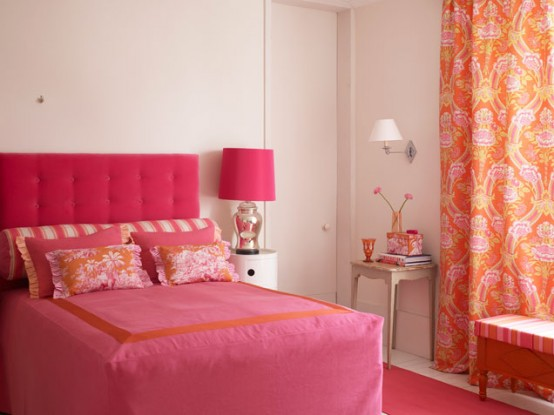 Chic Colorful Bedroom