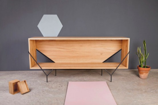 Chic Geometric Y Furniture Collection