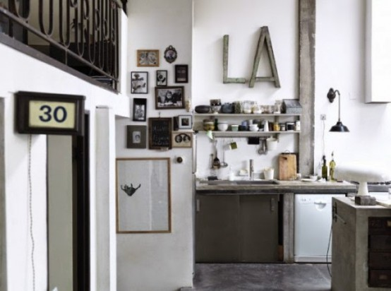 Chic Industrial Paris Loft From An Old Factory
