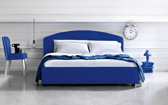 Chic Modern Letti&Co Bed Collection By Gervasoni