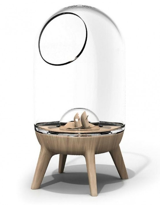 Chic Modern Pet Homes With A Futuristic Touch