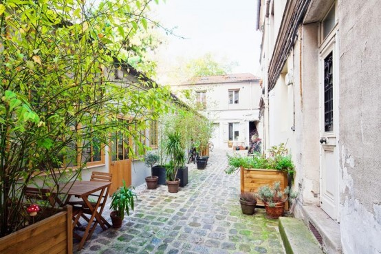 Chic Paris Loft With Three Half Levels
