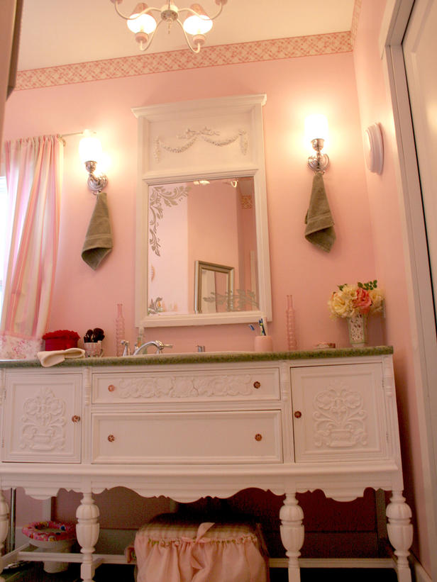 43 bright and colorful bathroom design ideas digsdigs Pink bathroom ideas pictures