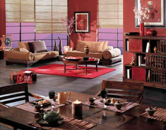 Chinese furniture in room designing digsdigs for Oriental furniture living room