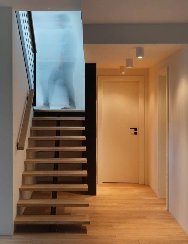 Picture Of childhood fantasies come true modern apartment with a slide  18