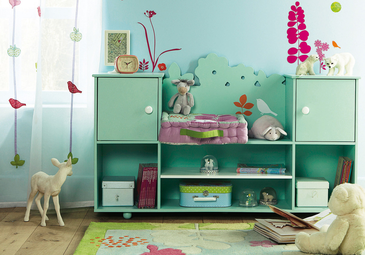 15 cool childrens room decor ideas from vertbaudet digsdigs - Cool room decorating ideas ...