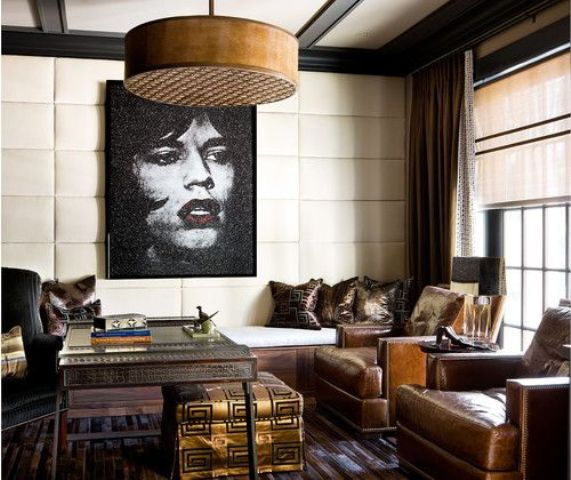What A Beautiful Mix Of Dark Moody Glam And Inviting By: Chocolate Shades For Home Decor: 31 Yummy Ideas
