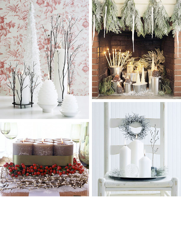 Decorating Ideas > 25 Cool Christmas Candles Decoration Ideas  DigsDigs ~ 060149_Christmas Decorating Ideas Home