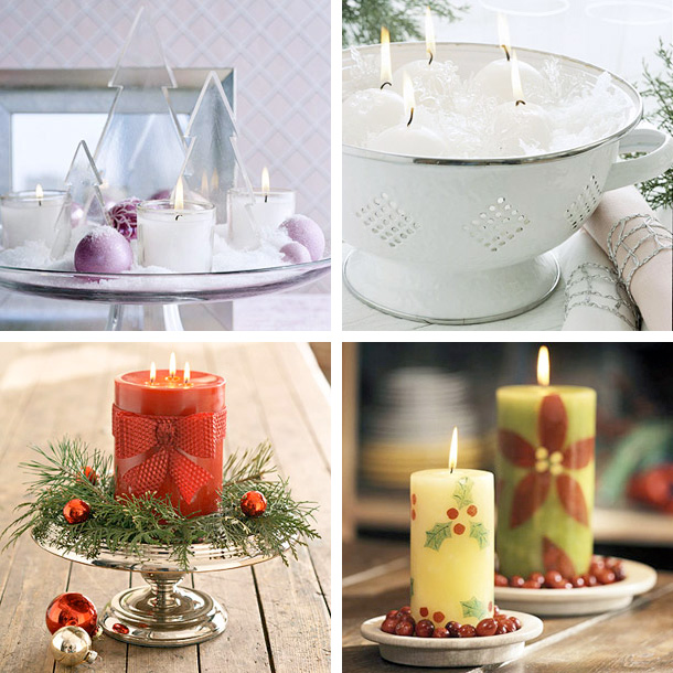 Stunning Christmas Candle Decorating Ideas 610 x 610 · 147 kB · jpeg