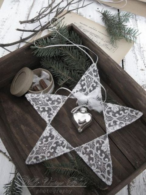 Christmas decorating with stars 43 gorgeous ideas digsdigs Gorgeous home decor pinterest
