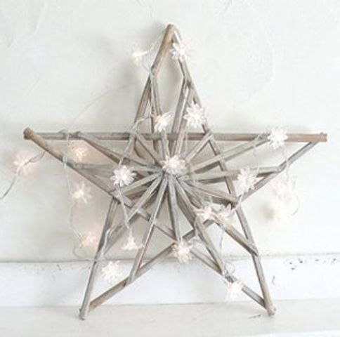 christmas decorating with stars gorgeous ideas - Christmas Star Decorations