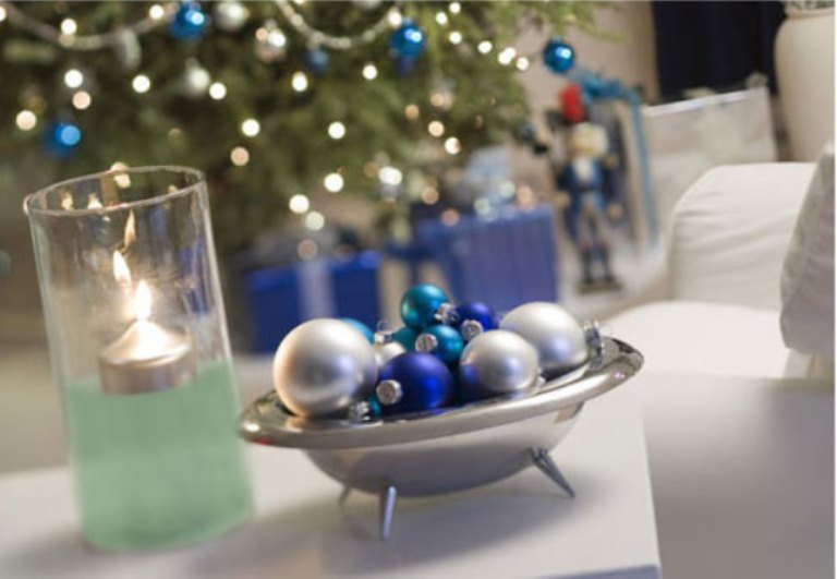 Cool Ideas To Decorate For Christmas In Blue