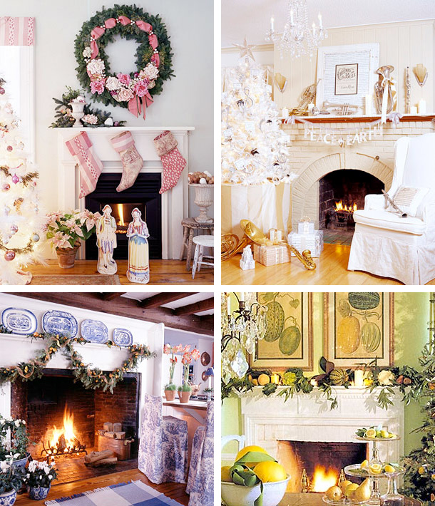 Ideas For Decoration: 33 Mantel Christmas Decorations Ideas