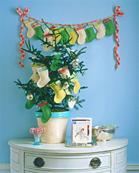 Christmas Stockings And Ideas To Use Them For Decor