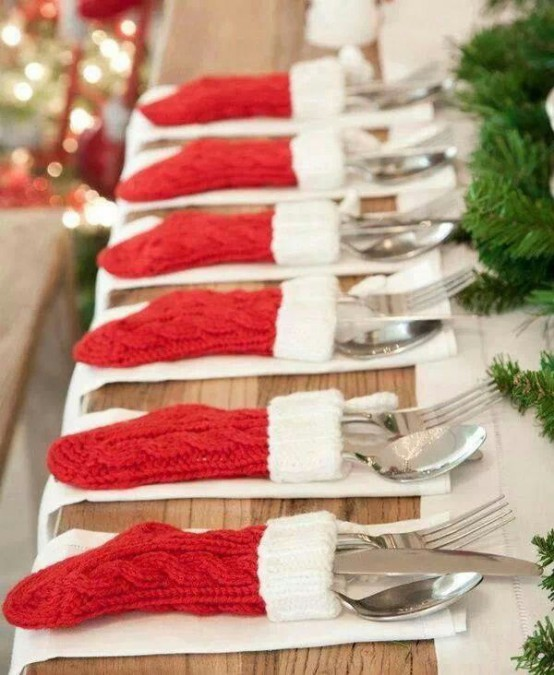 40 Christmas Stockings And Ideas To Use Them For Décor & 40 Christmas Stockings And Ideas To Use Them For Décor - DigsDigs