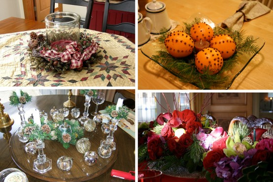 Great & Easy Christmas Centerpiece Ideas