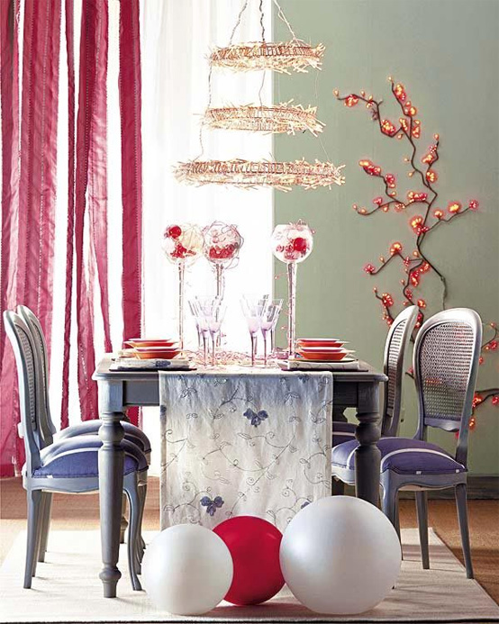 Outstanding Dining Room Table Christmas Decorating Ideas 554 x 693 · 164 kB · jpeg