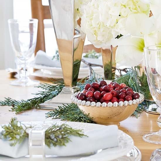 Holiday Place Settings: 35 Christmas Table Settings You Gonna Love