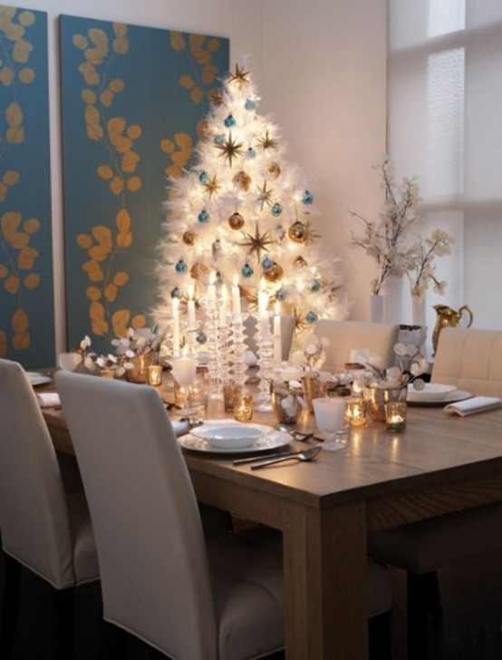 Christmas Modern Decor 30 traditional and unusual christmas tree décor ideas - digsdigs