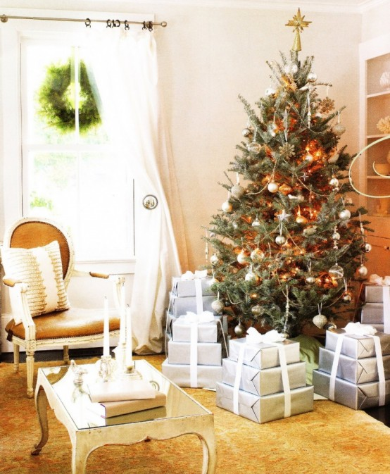 Christmas Tree Decorating Ideas from Shelterness