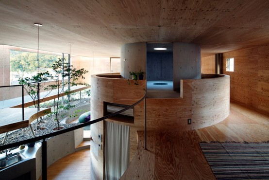 Circular Pit House With A Sunken Footprint