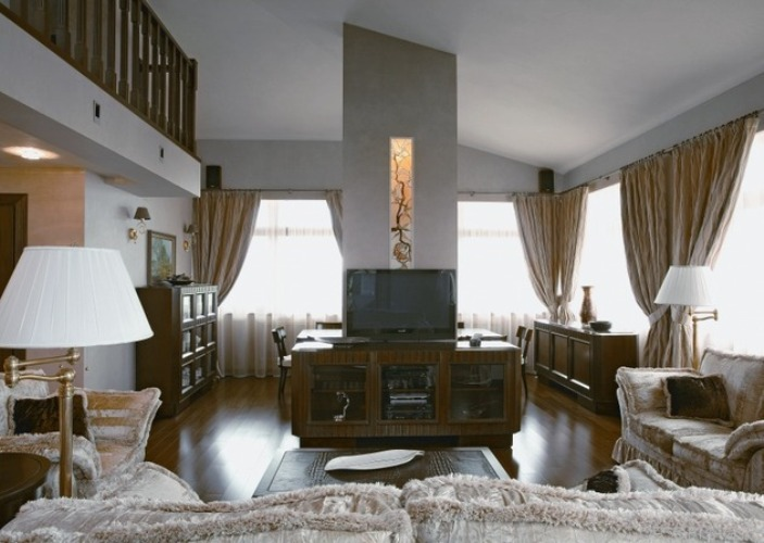 Красивые интерьеры квартир фото классика