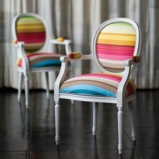 Classic Chair In Vibrant Colors