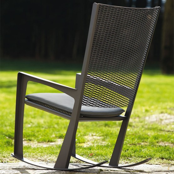 Classic Cornelia Rocking Chair For Indoors And Outdoors