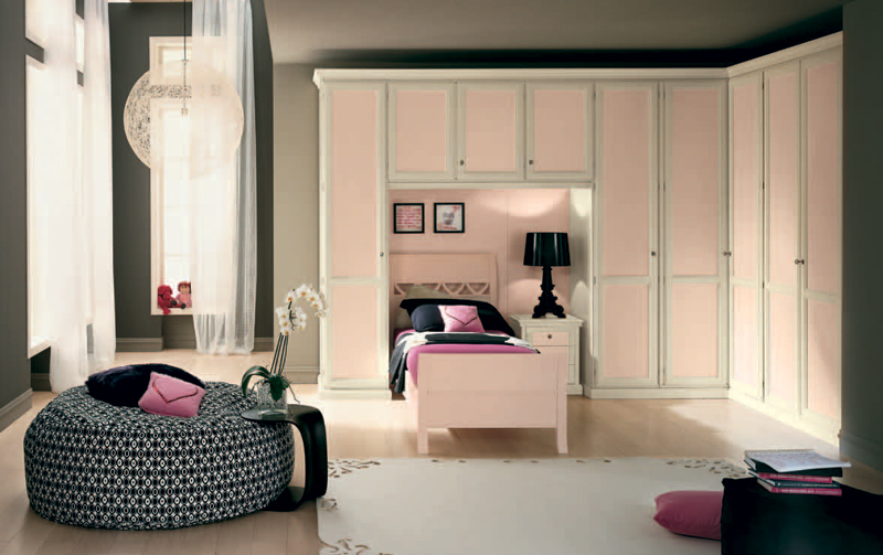 10 classic girls room design ideas with modern touches - Modern teenage girl bedroom ...
