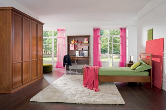 Classic Girls Room Design