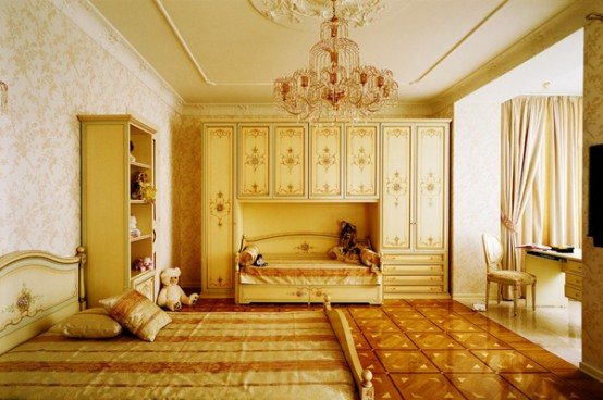 Classic Kids Bedroom Design