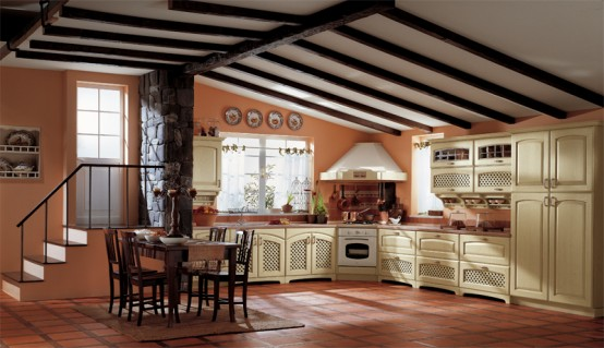 Classic Kitchen Design Elena By Ala Cucine