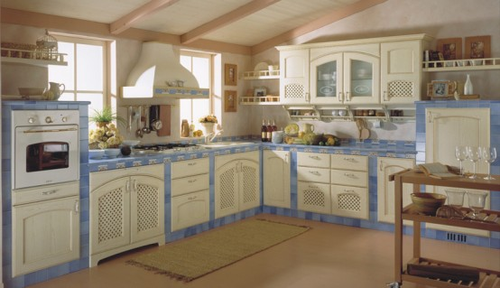 Classic Kitchen Design Taormina By Ala Cucine
