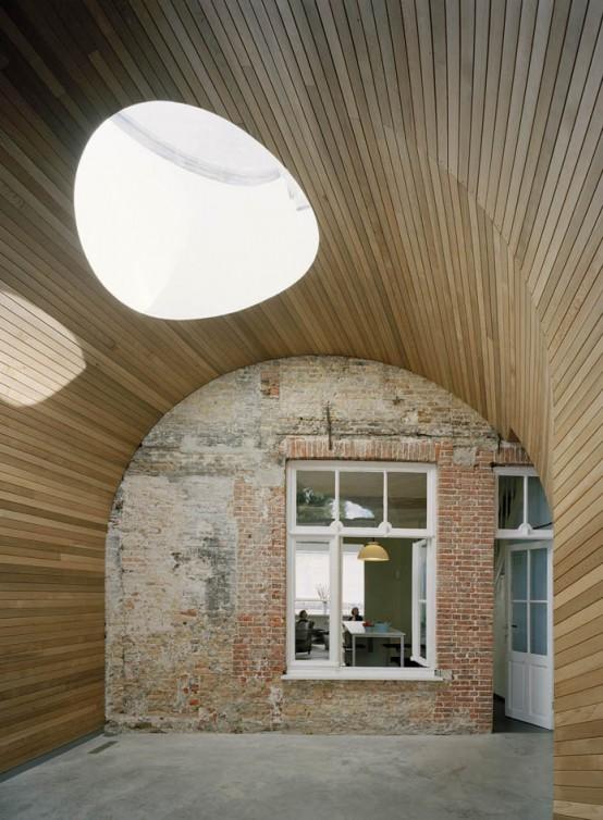 51N4E Architects Brügge, Belgien