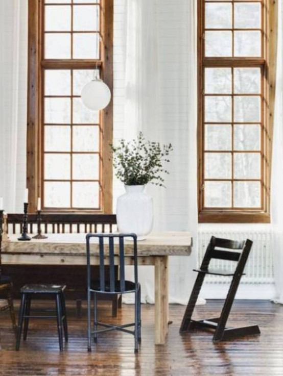 Classical Scandinavian Apartment In The House Of