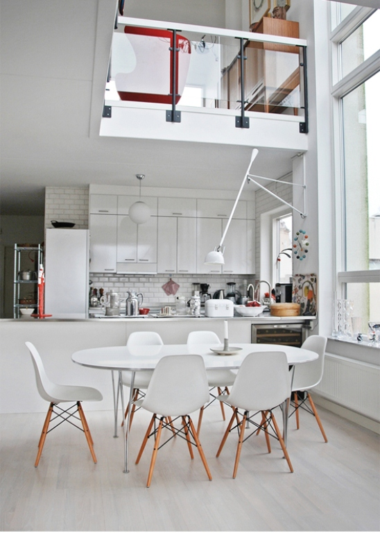 Classical Scandinavian House With A Mid Century Touch
