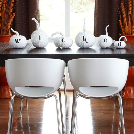 22 Classy Minimal Halloween Dcor Ideas  DigsDigs - Halloween Decorations And Accessories