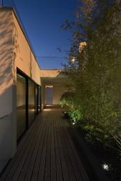 Clean Modern 3 Storey House Design