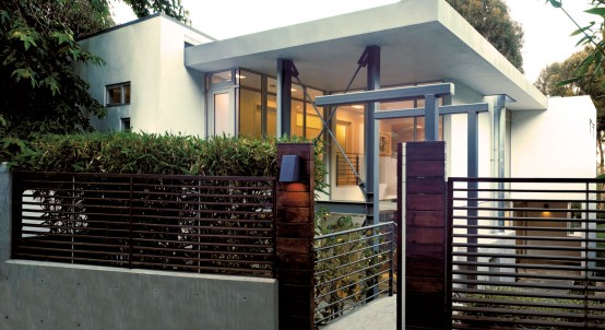 Contemporary House with Clean and Simple Plan and Interior DigsDigs