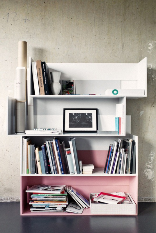 Clever And Flexible Shift Shelving System