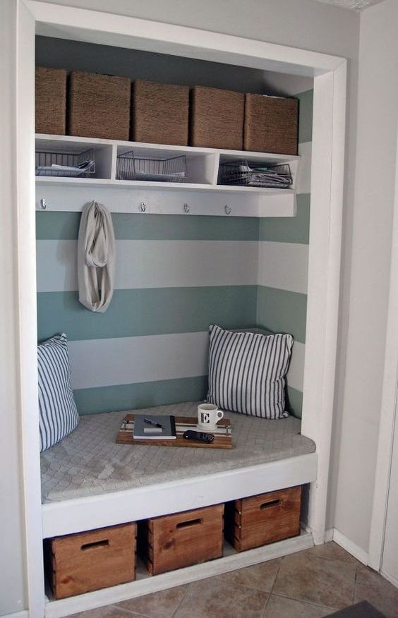 Picture Of clever examples to organize your entryway easily  11