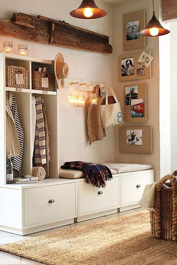 Picture Of clever examples to organize your entryway easily  12