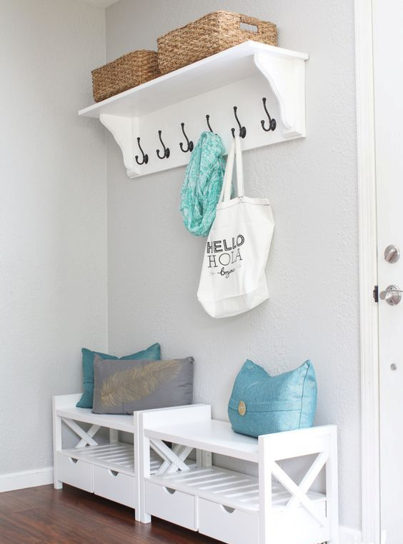 Picture Of clever examples to organize your entryway easily  16