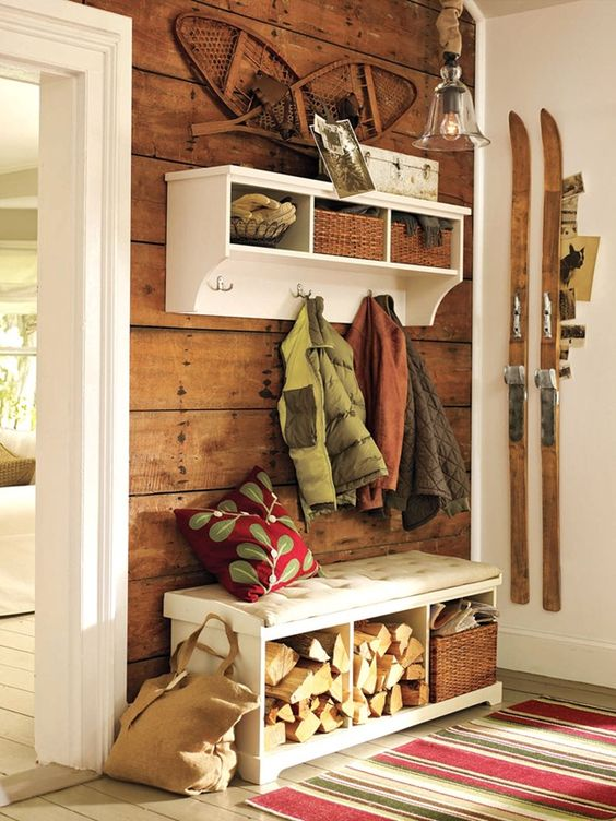 Picture Of clever examples to organize your entryway easily  18